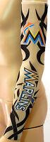 Miami Marlins Tribal Tattoo Arm Sleeve Sun Block Nylon Baseball Digital