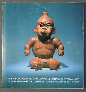 Sothebys Fine Pre-Columbian Art NY May 1979