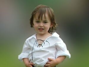 Baby Scottish Ghillie Shirt 12-24 Months  Matches Kilt