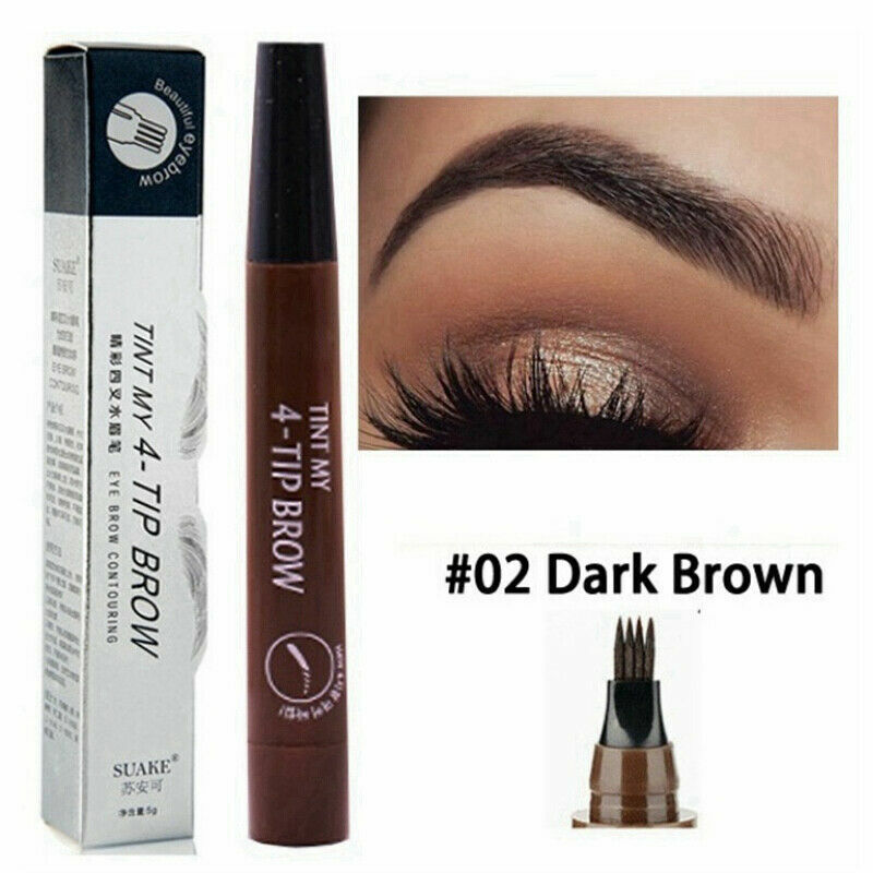 Crisp Brows —Natural Tattoo Eyebrow Pen Anti-sweat Waterproof 2019