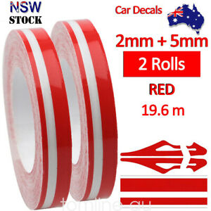 2Roll-9-8m-Pinstripe-Solid-Pinstriping-Tape-Vinyl-Car-Decal-Sticker-Glossy-Red