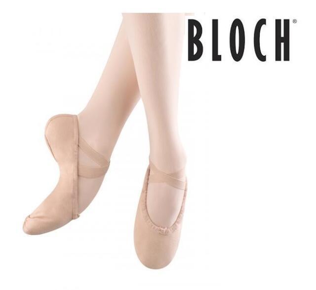 3eeb674e2147de Bloch Canvas Split Sole Ballet Shoes Dance PUMPS Dance Apparel ...