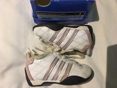 Adidas con Cordones Bebé Niñas Zapatillas Size UK 3K/FR 19