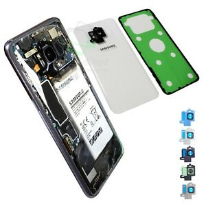 big sale f2b47 bf036 Details about Cool Clear Back Glass Replacement w IP68 Tape for Samsung  Galaxy S8/S8 Plus