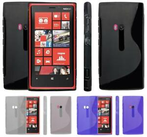 S-Line-Wave-Tough-Shockproof-Phone-Case-Gel-Cover-Skin-Microsoft-Lumia-920