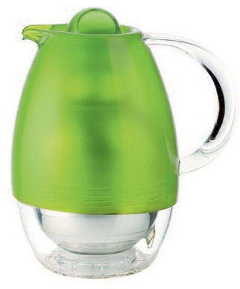 Guzzini FEELING Thermoskanne Kaffeekanne Teekanne Kanne 1 L grün 22410044