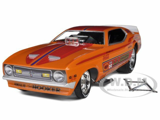 1971 Ford Mustang Steve Condit la Hooker Nhra Funny Car 1 18 Autoworld aw1106