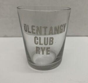 Olentangy Club Rye Whiskey Shot Glass ~ Pre Prohibition