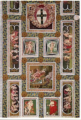 Postcard Pinturicchio Piccolomini Library Ceiling at Dome of Siena Italy MINT