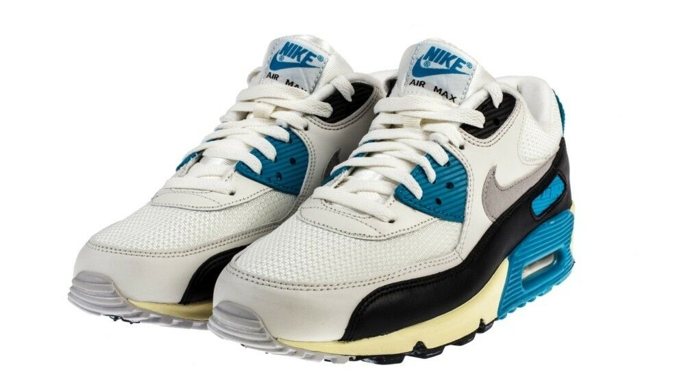 2012 NIKE AIR MAX 90 OG SAIL GREY blueE US 12  RETRO