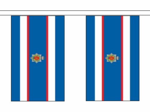 British Army Royal Corps of Transport Polyester Flag Bunting 5m with 14 Flags
