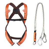 Delta Plus Elara 280 Fall Arrest Kit - 2 Scaffold Hooks + Body Harness