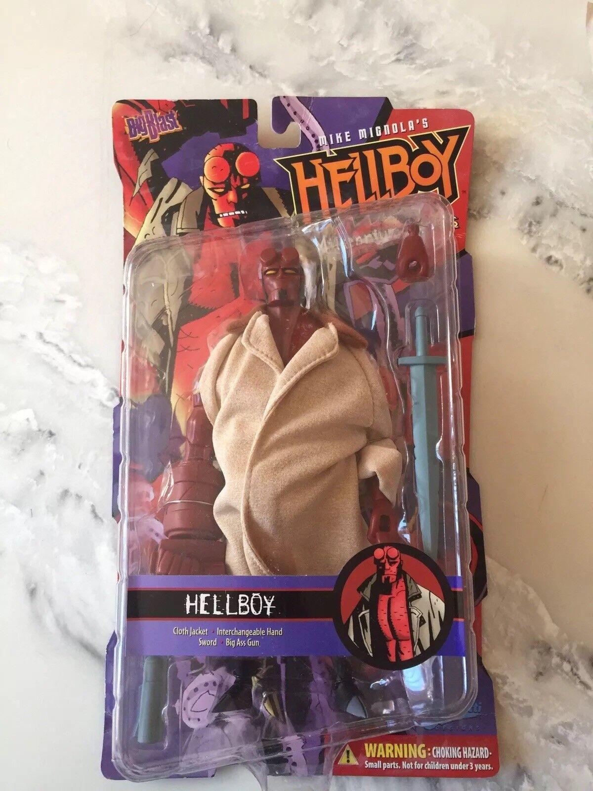 Hellboy mike mignola geschaffen - actionfigur - versiegelt von 2001
