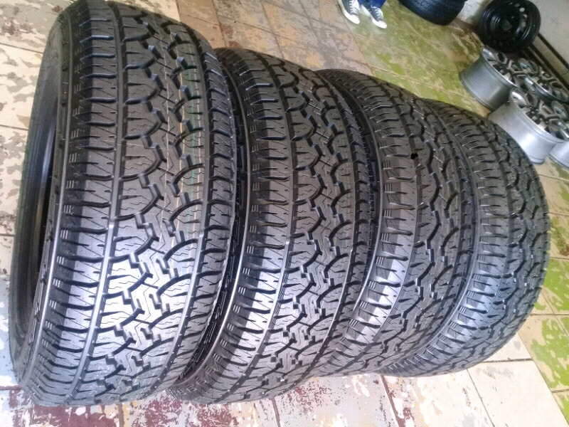 Tyres GT RADIAL ADVENTURO AT 265/60R18 A Set Of Four On Sale .
