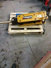 Trojan Th 50 Hydraulic Demolition And Concrete Hammer Attachment For Excavator