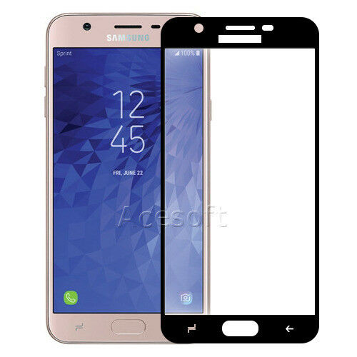 low cost ab1c6 e4e00 for Samsung Galaxy J7 (2018) Full Cover Tempered Glass Screen Protector