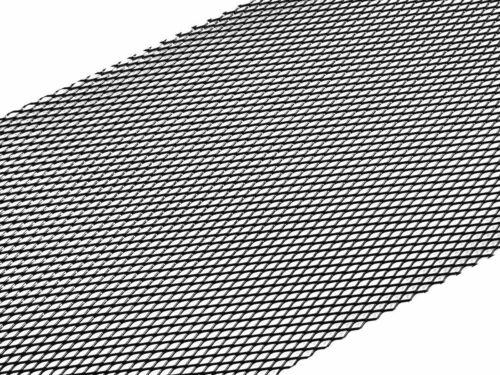 ALU racinggitter renngitter Tuning Grille 33x100 cm Noir Aluminium Universel