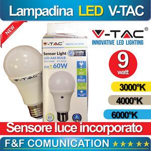 LAMPADA-LAMPADINA-LED-CON-SENSORE-LUCE-CREPUSCOLARE-GIARDINO-V-TAC-9W-AUTOMATICA