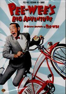 NEW-DVD-PEE-WEE-039-s-BIG-ADVENTURE-PEE-WEE-HERMAN-ELIZABETH-DAILY