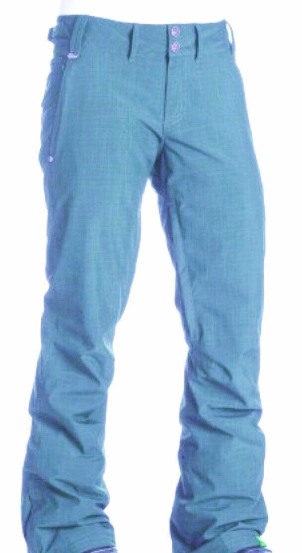 Roxy GARDEN Snowpant Ski- Snowboard Hose turquoise türkis blau Damen NEU