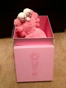 KAWS-BFF-Pink-Plush-Number-1848-100-Authentic