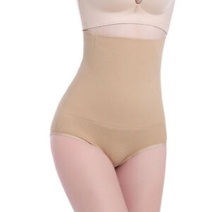 Damen Slim Pant Shapewear Bodyshaper Hohe Taille Miederhose Bauchwegs Hose DE