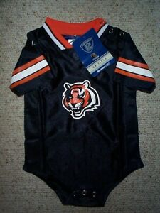 Details about REEBOK Cincinnati Bengals nfl BABY INFANT NEWBORN Jersey 24M M 24 Months