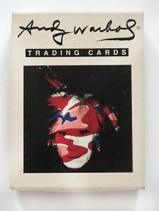 Vintage Andy Warhol Trading Cards by ACME Studio Full 36 pc. Set RARE