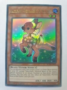 YuGiOh! VALERIFAWN MYSTICAL BEAST OF THE FOREST AC18-EN019 1st Edition Ultra