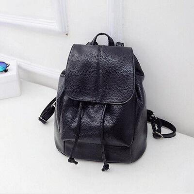 Women Leather Backpack Rucksack Travel Outdoor School Bag Shoulder Bags Satchel