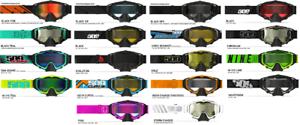 2018 509 Sinister X5 Dual Pane Anti-Fog Lens Snowmobile Sno-X Snowboard Goggle