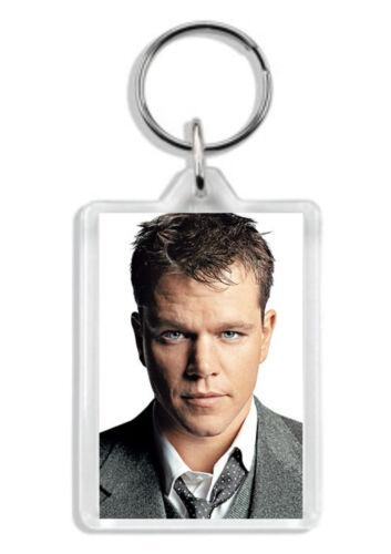 Jason Bourne Keyring Matt Damon Bag Tag *Great Gift*