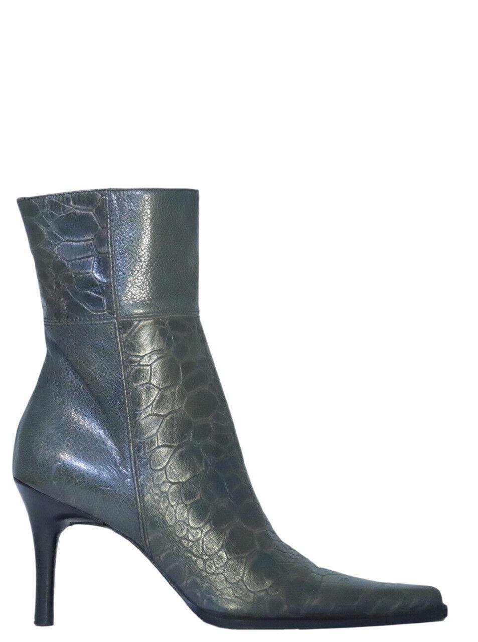 Man/Woman Caiman 6050 Women's Ankle Boots Blue Elegant shape New style Export