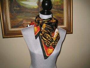 Versace Gianni scarf vintage silk woman