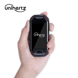 Unihertz Atom Smallest 4G Rugged Smart Phone Android 9.0 Pre Unlocked ATOM-01