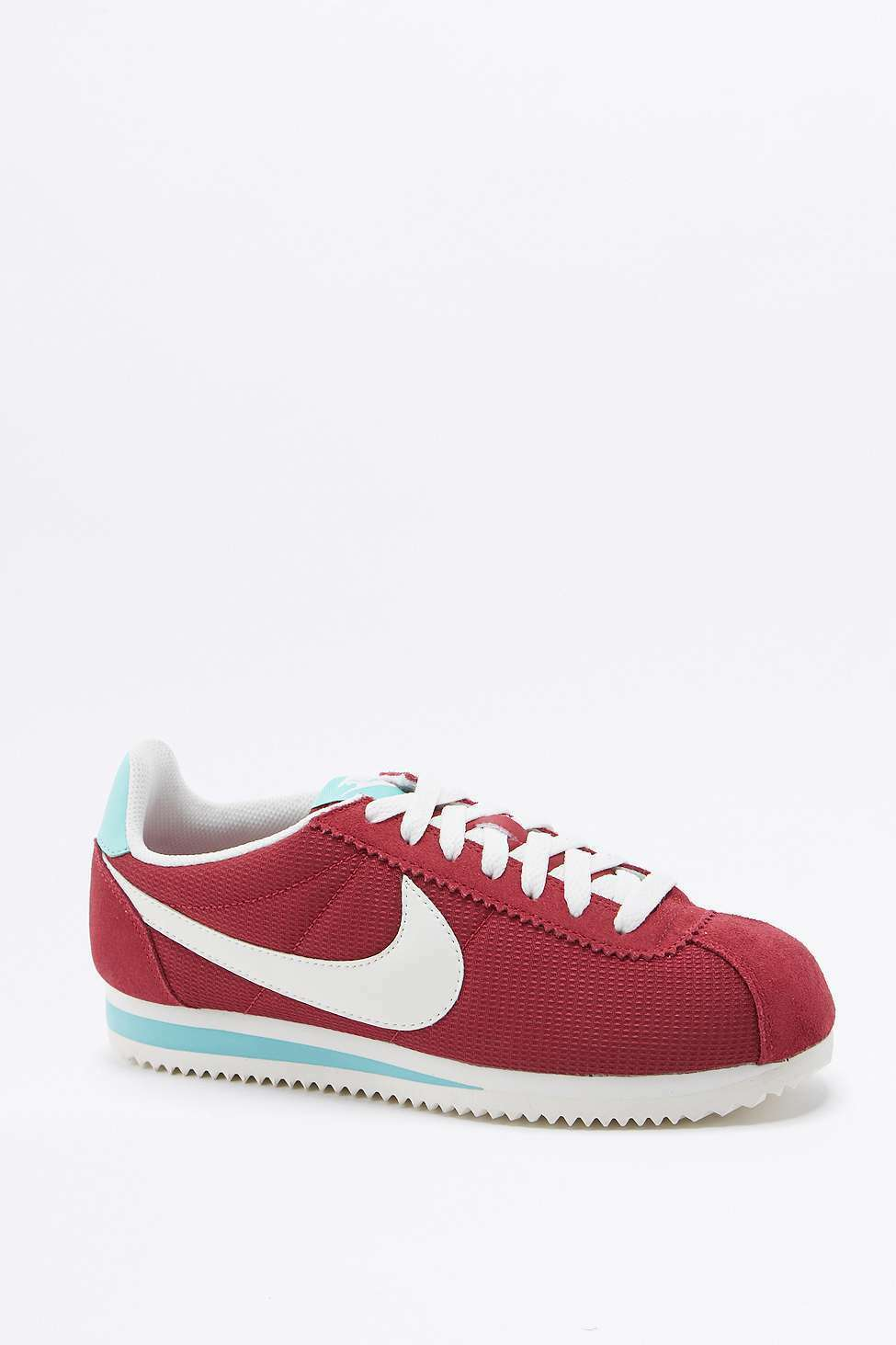 Nike Wmns Classic Cortez Txt Trainers Sneakers - ROT - UK 6/EU 40 -   New