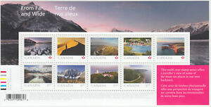 Canada-NEW-From-Far-And-Wide-Souvenir-Sheet-2020-MNH