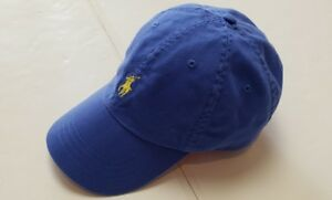 NWT-POLO-RALPH-LAUREN-BASEBALL-CAP-LEATHER-ADJUSTABLE-Strap-HAT-ONE-SIZE-F