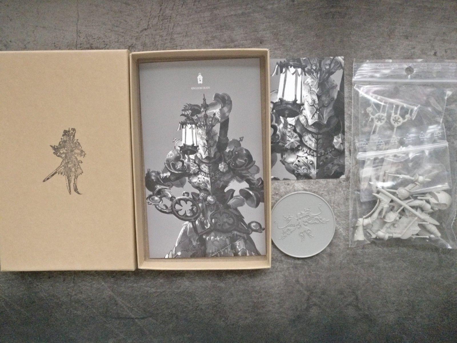 Kungadömets död- Scissor Knight Encore Edition