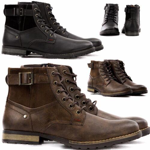 Polacchini Stivali Anfibi Sneakers Camperos Pu Stivaletti Uomo Pelle Scarpe  T45 Xpq6XZ d9321d77bf2