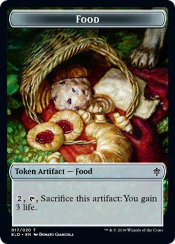 #17 Throne of Eldraine 8 Food Token