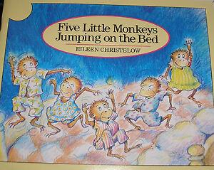 five little monkeys sitting in a tree lyrics