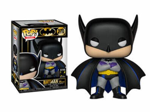 Vinyl environ 10.16 cm Funko POP Heroes Batman 80th Batman 1st apparition 4 in 1939 Neuf!