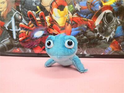 New Frozen Bruni Plush Toy Blue lizard Salamander ...