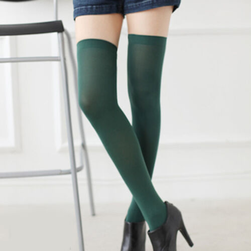 Fashion Womens Warm Over The Knee Thigh High Soft Socks Stockings Leggings New