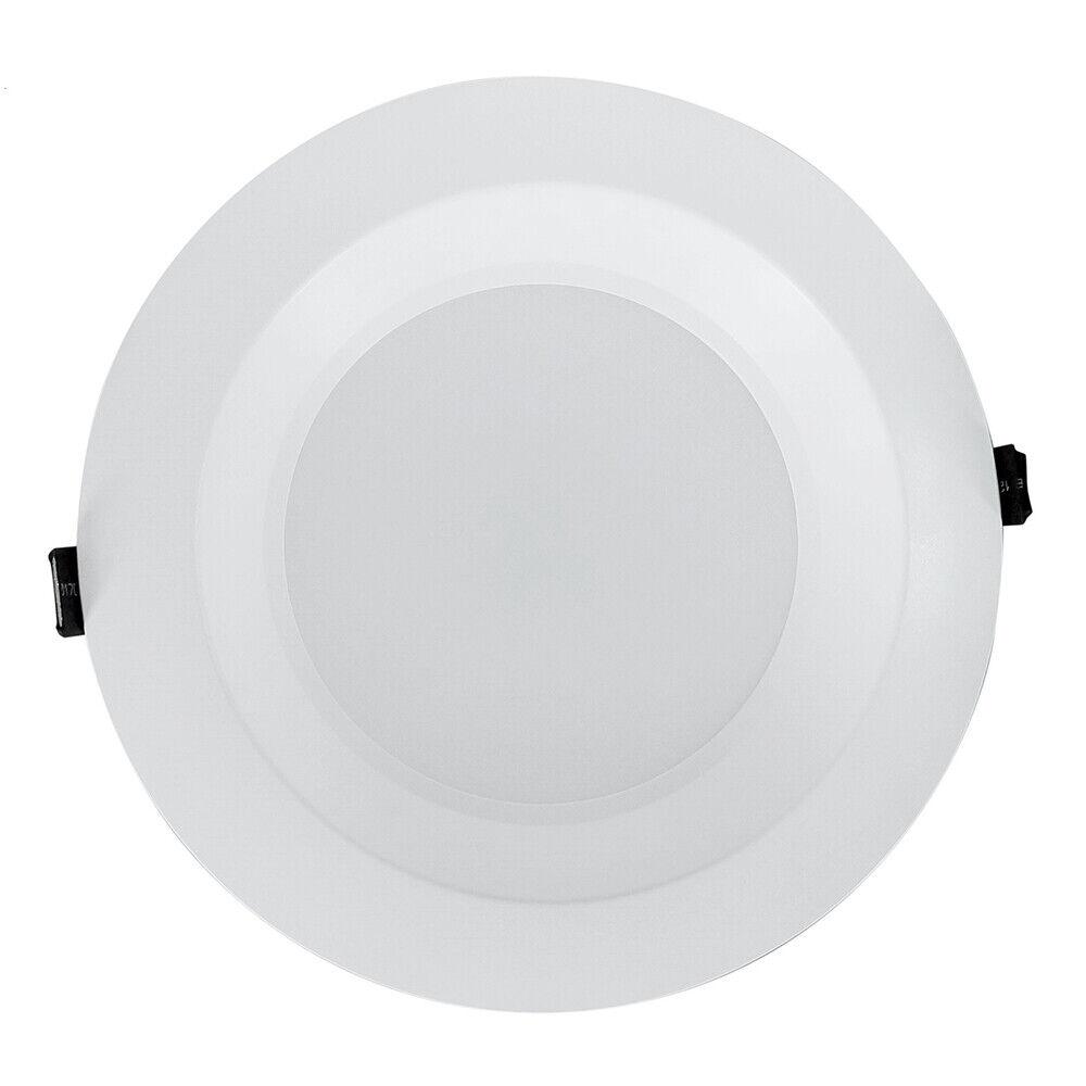 Nicor 8 en. blancoo LED retraído Downlight comercial en 4000K