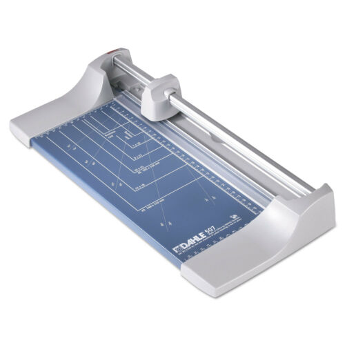 Dahle Rolling/Rotary Paper Trimmer/Cutter 7 Sheets 12 Cut Length 507