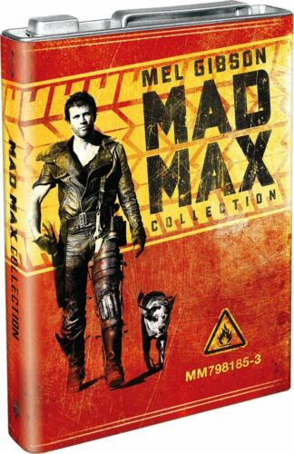 Mad Max Collection   Limited Edition Petrol Can Packaging [Blu Ray] New & Sealed by Ebay Seller