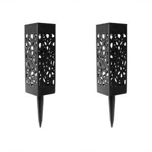 2x-LED-Lampes-Solaires-Jardin-Torche-Solaire-Lampes-pour-Lumiere-Decorative