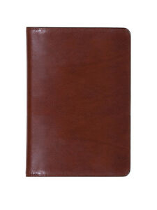 Scully Accessories Walnut Italian Leather Desk Size Address Book